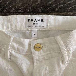 Frame Denim Skirts - FRAME DENIM/ le mini skirt split front